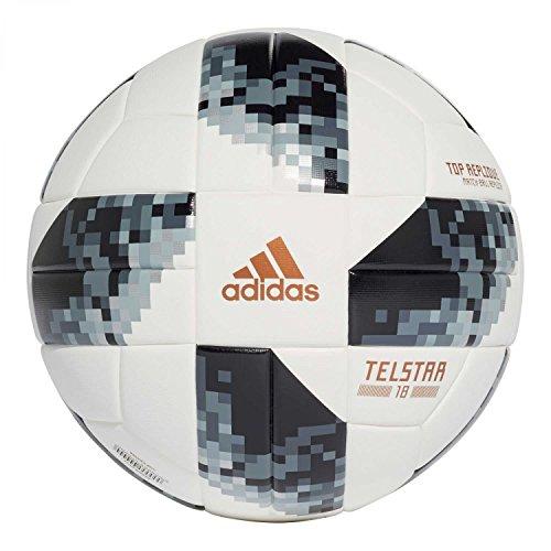 adidas World Cup Toprx Balón, Hombre, Blanco (Blanco/Negro/Plamet), 4