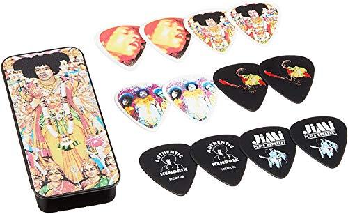 Jim Dunlop Bold as Love Jimi Hendrix String Tin 12 pack