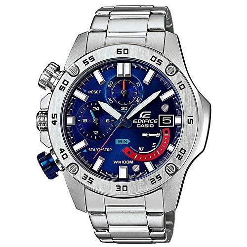 CASIO Edifice Edifice EFR-558D-2A - Reloj de Pulsera para Hombre (100 m, Resistente al Agua), Color Azul