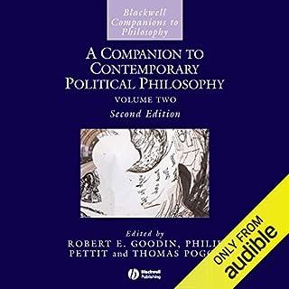 A Companion to Contemporary Political Philosophy audiobook cover art