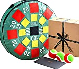 Jaques of London Target Throw Game | Garden Toys | Outdoor Toys | Garden Games | Outdoor Games | Kids Garden Toys | Outdoor Games For Kids | Since 1795
