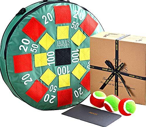 Jaques of London Ziel-Ball, riesiges XL-Gartenballspiel – sicherer als Rasenpfeile und mehr Spaß, dieses große Outdoor-Spiel ist geeignet für alle Altersgruppen – Qualitätsspiele seit 1795