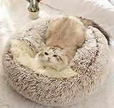 DanChen Panier pour Chat Anti Stress Extra Doux Lit pour Chat Grotte Niche Chat...