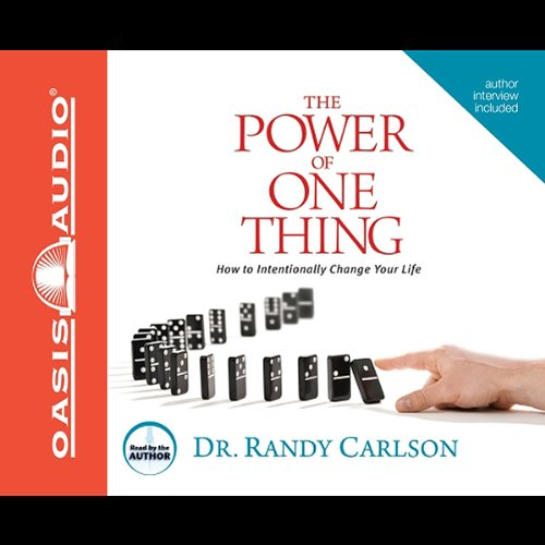 The Power of One Thing audiobook cover art