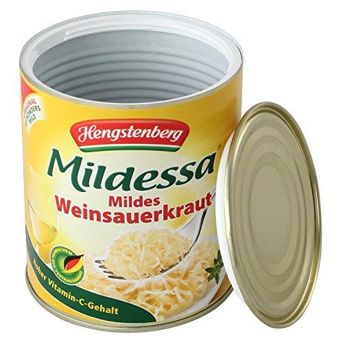Dosensafe denaro in un can Mildessa crauti, 12.0x 10.0cm