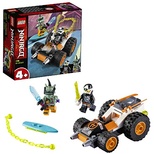 Lego 71706 NINJAGO 4+ Coles Speeder, Prime Empire Rennwagen Spielzeug für Vorschulkinder
