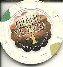 $1 grand victoria casino chip rising sun indiana