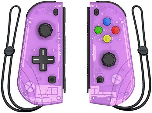 Mando inalámbrico Joy-Con, para Nintendo Switch, Proslife L/R Joycon Switch, mando de gamepad con pulsera