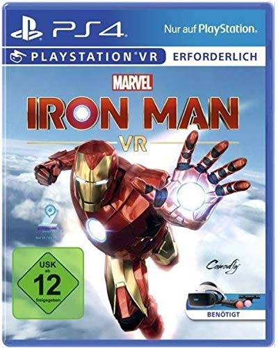 Marvel's Iron Man VR PS4 (euro edition - Plays in English)