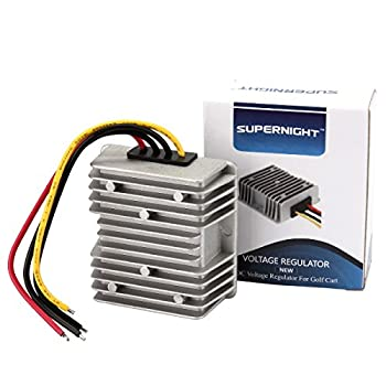 Golf CART Voltage Reducer Converter 48V to 12V 10A 120W Step Down Transformer