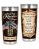 Customized Tumbler Drag Racer'S Prayer...