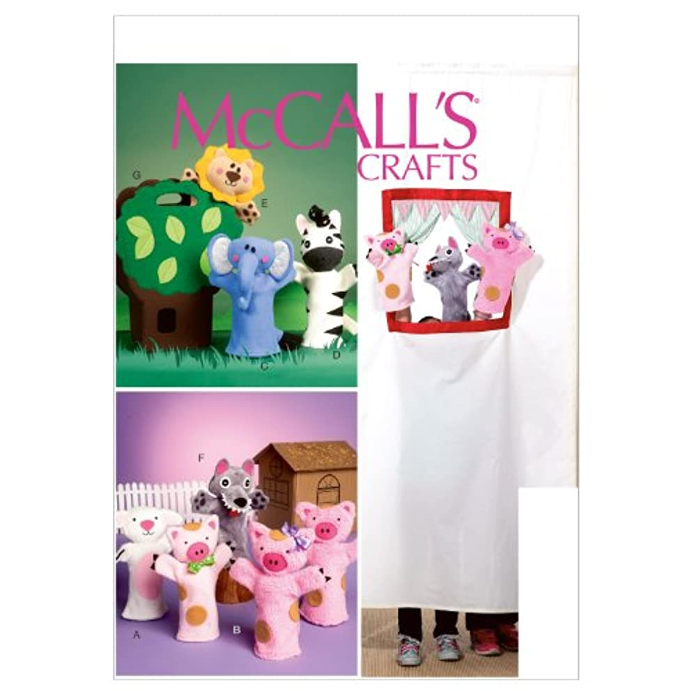 McCall Patterns M6671 Puppets and Carry Bag Sewing Template