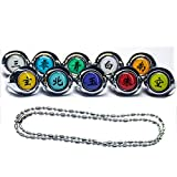 Ninja Rings & Classic for Cosplay Ninja Anime Fans Party Costume Accessories(11...