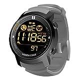 Reloj inteligente deportivo Reloj de pulsera Bluetooth multifuncional para exteriores 50M Cronómetro de calorías de frecuencia cardíaca a prueba de agua Relojes digitales militares para hombres