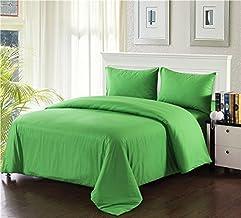طقم غطاء لحاف 2-3PDUV-Yellow-S من Tache Home Fashion ، مزدوج، أصفر نيون California King 2-3PDUV-Green-CK