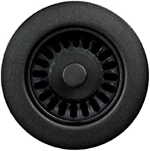 Houzer 190-9265 Sink Strainer for 3.5-Inch Drain Openings, Matte Black