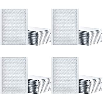 100pcs 10.5x16  Wholesale Bubble Mailers #5 White Padded Envelopes Self-seal Bubble Wraped Envelope Shipping Bags for Small Business - Limited-time Discount!