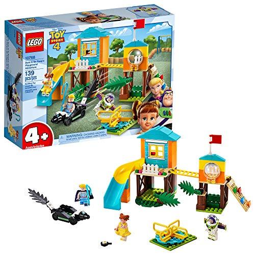 LEGO   Disney Pixar?s Toy Story Buzz & Bo Peep?s Playground Adventure 10768 Building Kit (139 Pieces)