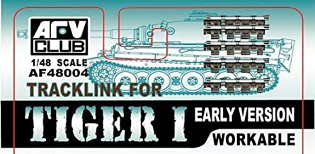 Tiger I Early Version Workable Track Links 1-48 AFV Club by AFV Club