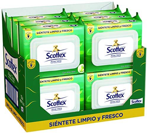 Scottex Sensitive Papel Higiénico con Aloe Vera - 12 paquetes de 66 unidades - Total: 792 Unidades