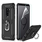 LeYi for Samsung Galaxy S9 Plus Case with Ring Holder, Full