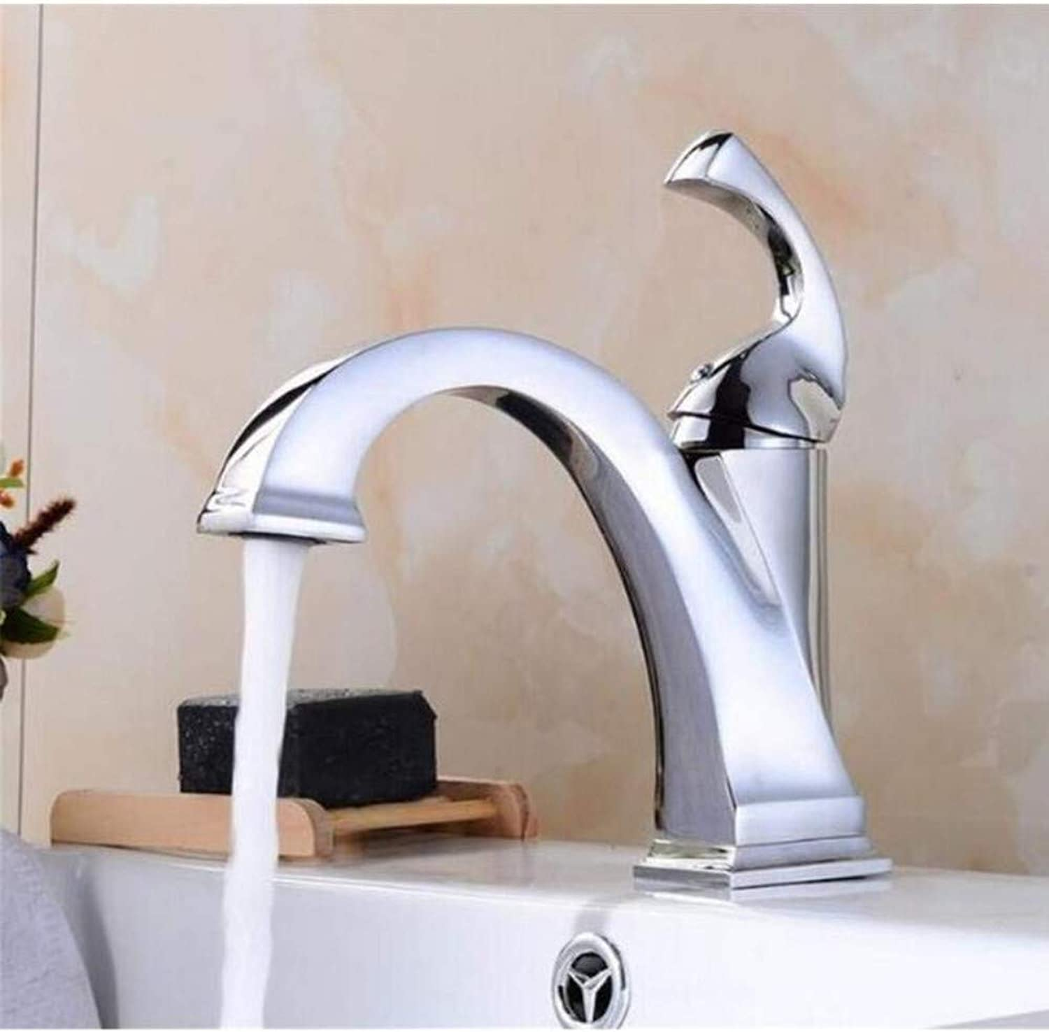 Brass Wall Faucet Chrome Brass Faucetfaucet Sink Mixer Taps Deck Mounted Single Holder Luxury Black Faucet