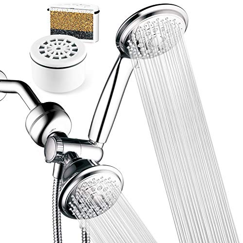 HOTEL SPA - Shower Heads with Handheld Spray - High Pressure...