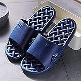 SXYRN On Flip Flop Sliders Sandals, Grid Fugas de recipientes Amantes-Tibetan_40-41, Antideslizantes, ultraligeras, Planas y Suaves
