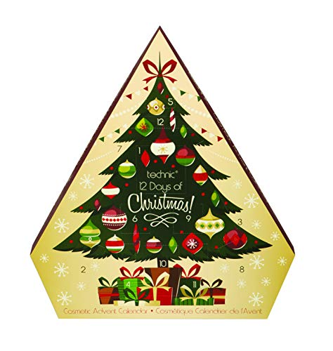 Technic Adviento árbol de Navidad 12 días calendario de cosméticos