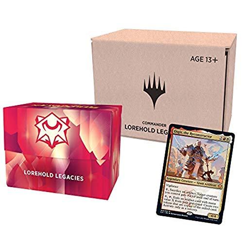 Magic The Gathering Strixhaven Commander Deck – Lorehold Legacies (Red-White) | Minimal Packaging Version