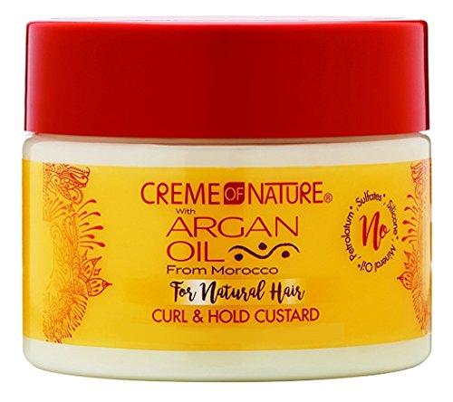 Creme of Nature Huile d'Argan du Maroc Twirling Custard Curl Gel coiffant
