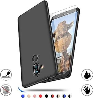 Nokia 7 Plus fodral, AChris fodral till Nokia 7 Plus 360 graders skydd smal PC telefonväska stötdämpning anti-fingeravtryc...
