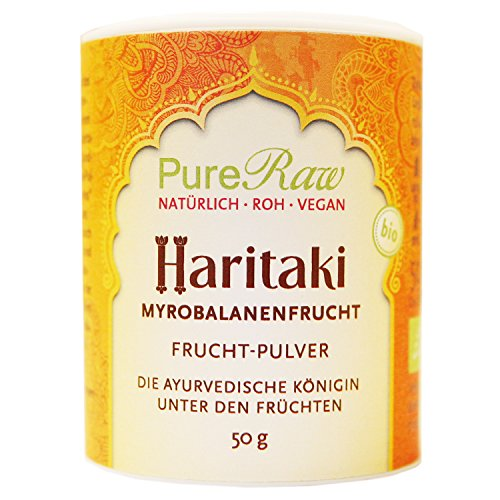 Haritaki-Pulver, 50 g (Bio & Roh)