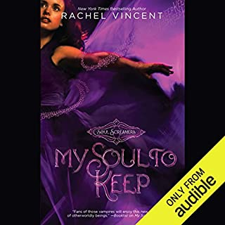 My Soul to Keep     Soul Screamers, Book 3              By:                                                                                                                                 Rachel Vincent                               Narrated by:                                                                                                                                 Amanda Ronconi                      Length: 8 hrs and 44 mins     658 ratings     Overall 4.4