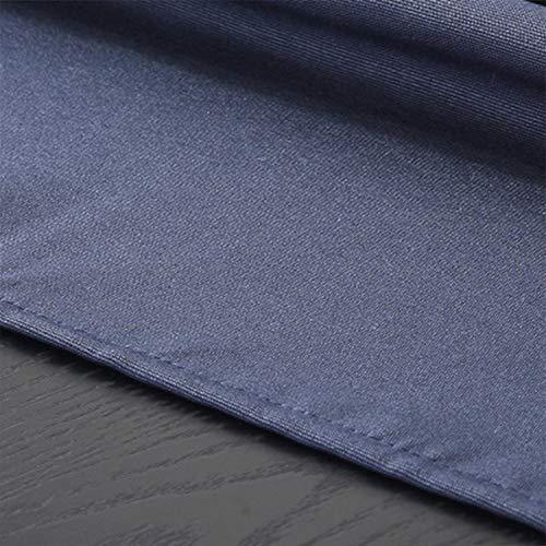 HEIFEN Mantel Impermeable 75 × 75CM Mezcla de Lino de algodón Adecuada para el Lavado - Ideal para mesas de bufet, Fiestas, cenas Festivas, Bodas, Salidas, etc.