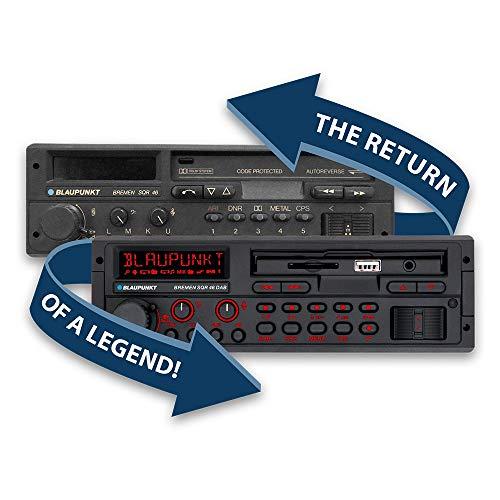 Blaupunkt 2001018000000 Bremen SQR 46-Autorradio Dab, 1 DIN, Bluetooth, USB, Manos Libres