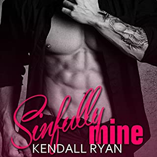 Sinfully Mine audiobook cover art