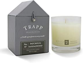 Trapp Signature Home Collection No. 7 Patchouli Sandalwood Poured Scented Candle, 7-Ounce