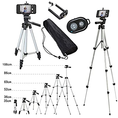 Cell Phone Camera Tripod 2In1