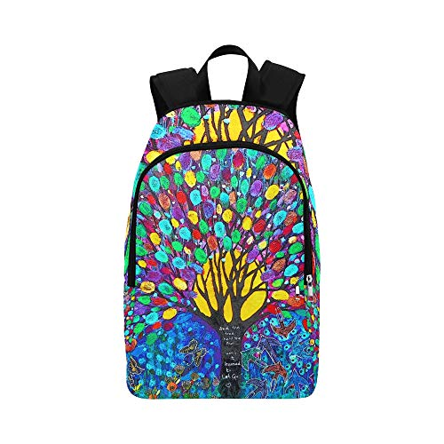 Kas Nik Cam Big The Tree Held The Sun Taken in Sun Casual Daypack Travel Bag College School Backpack for Mens and Women