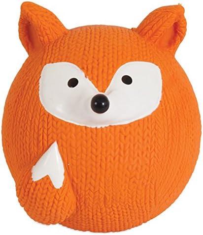 Zoobilee Latex Fetch Balls Fox product image