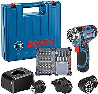 Bosch Professional 12V System sladdlös borrskruvdragare GSR 12V-15 FC (med 1x 2,0Ah-batteri, snabbladdare GAL 12V-20, 3x ...