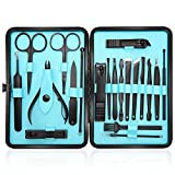 Manicure Set Professional Nail Clippers Kit Pedicure Care Tools-Stainless Steel Men Grooming Kit
