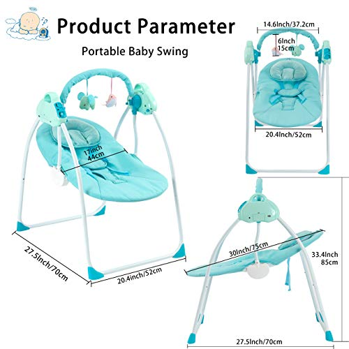 51hUPV+XgcL 10 Best Portable Baby Swings on the Market 2021 Review