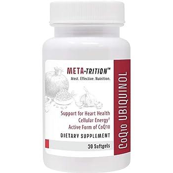 Metatrition Coq10 Ubiquinol Nutritional Supplements, 30 Count