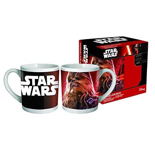 Star Wars Tasse AUSWAHL Yoda Darth Vader Stormtrooper Chewbacca Kaffeetasse (Chewbacca)