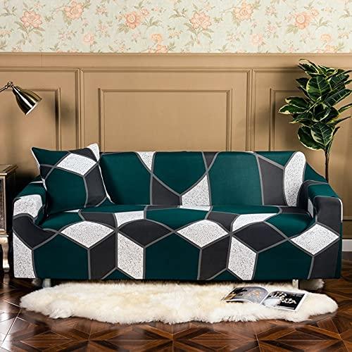MKQB Funda de sofá elástica elástica para Sala de Estar, Funda de sofá de Estilo Bohemio, Funda de sofá Antideslizante con combinación de Esquina NO.18 1seat-S- (90-140cm