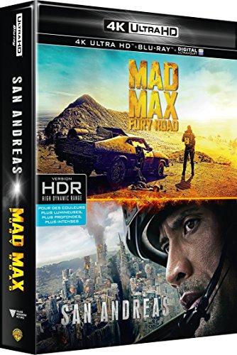 Coffret Action 4K : San Andreas + Mad Max Fury Road