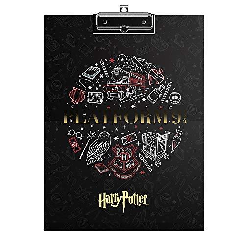 Prancheta Calendário Planner 12 Folhas Personalizadas, Harry Potter