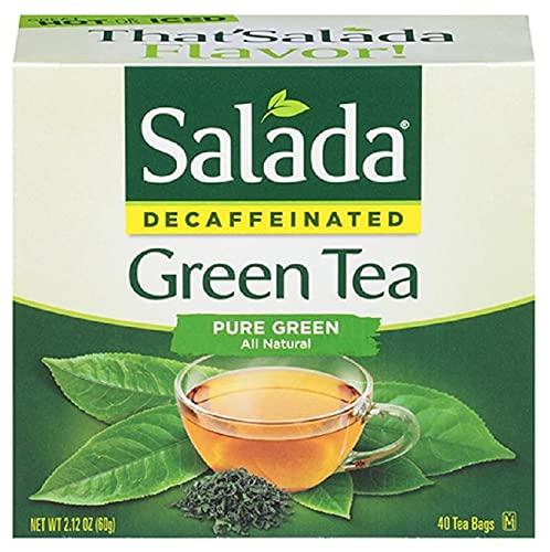 Salada Green Tea Naturally Decaffeinated - 40 Tea Bags